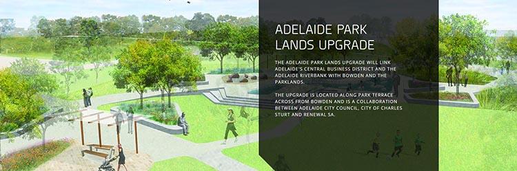 Adelaide Park Lands Upgrade