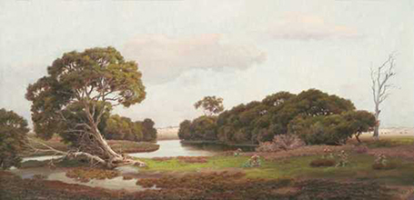 Swamp Lands, J. White, 1908 (AGSA Collection)