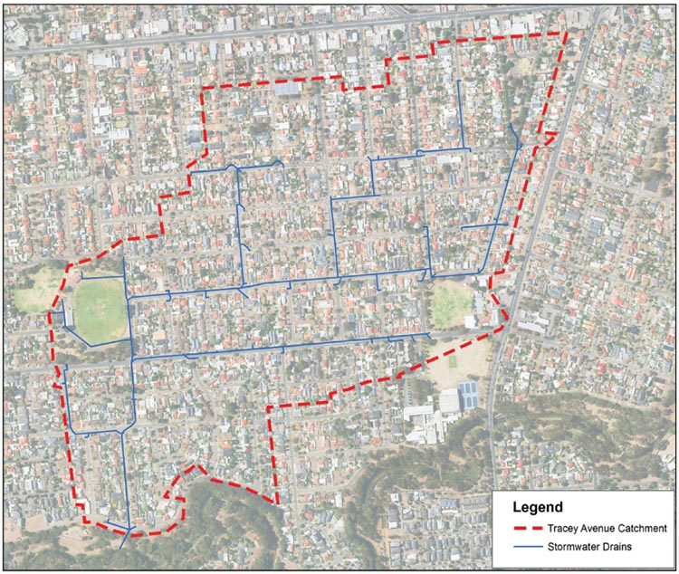 Tracey Avenue Stormwater Catchment