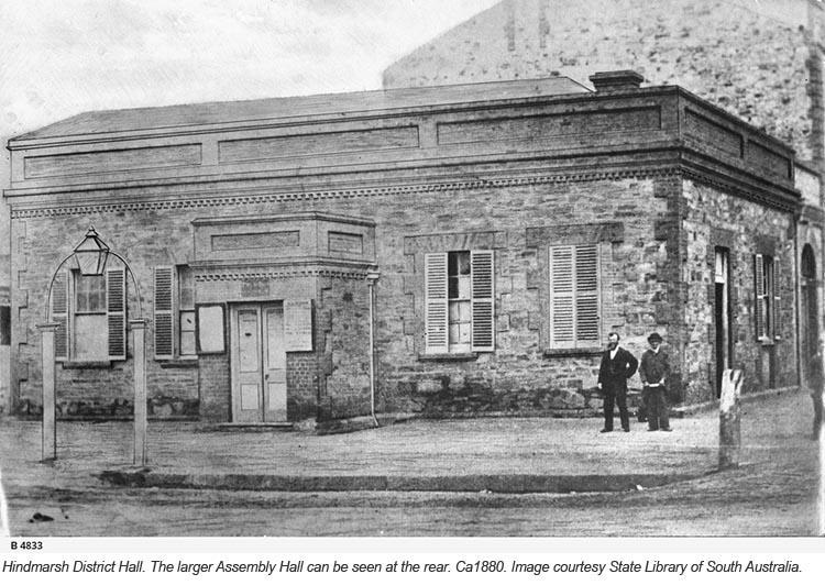 B-4833 - Hindmarsh Town Hall