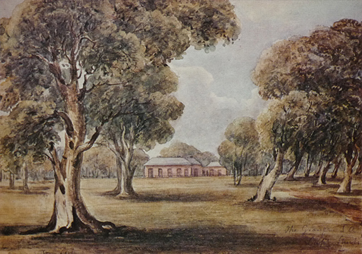 The Grange, c1849, E C Frome. Image - Royal Commonwealth Society