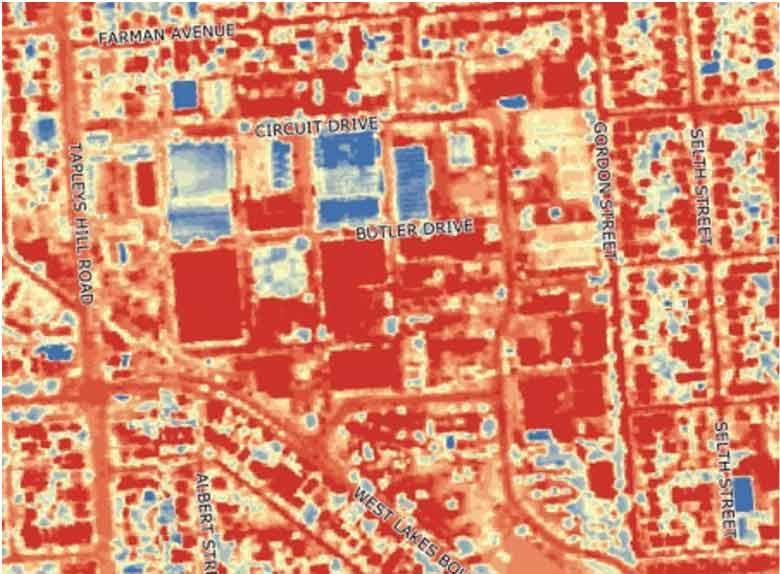Hendon Business Heatmap