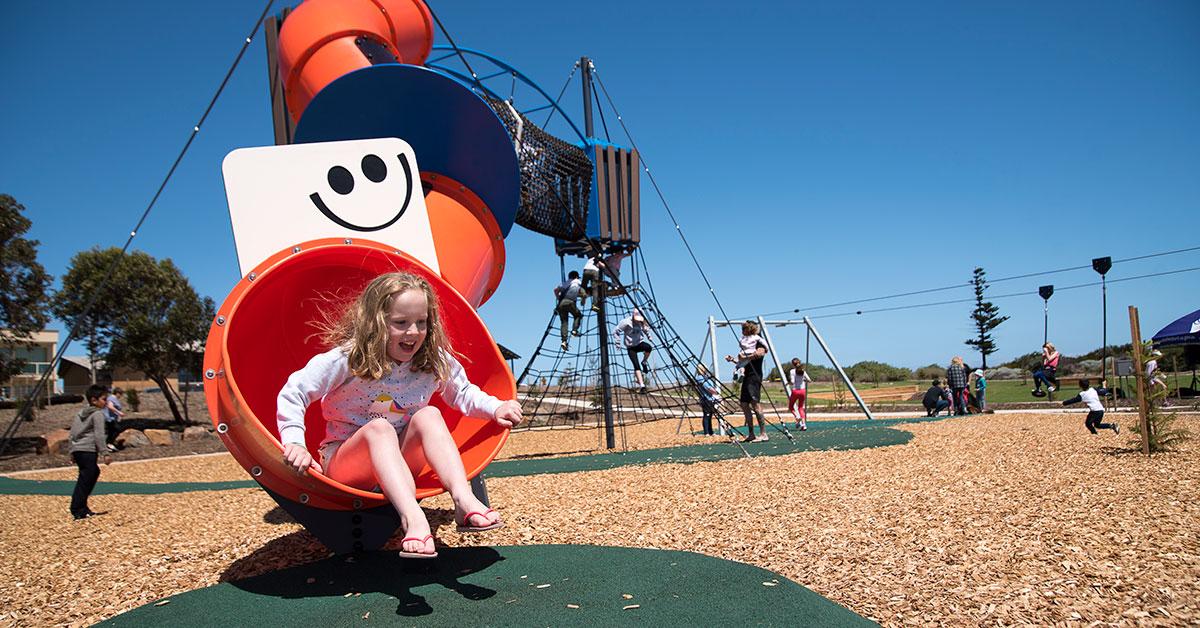 Point Malcolm Reserve junior playground
