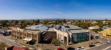 Civic Centre from Drone