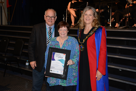 Linda MacGillivray citizen of the year 2020