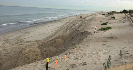 West Beach erosion