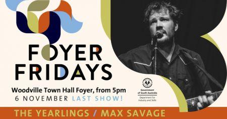 Foyer Fridays 6 Nov